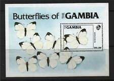 Gambia 537, MNH, Insects Butterflies, 1984. x26133