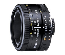 Prime Lens for DSLR Camera Full Frame 2137 AF Nikkor Lens 50mm F1.8D