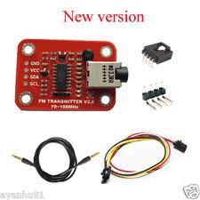 FM Radio Transmitter Module Ham Radio Emission Module Compatible Arduino