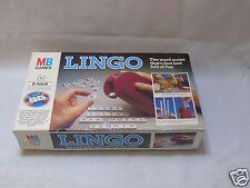 Lingo MB Jeux Coffret Family Fun Time Board Games