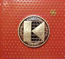 BRD 10 Deutsche Mark 1996 A Kolping Werk PP  15,5g  625er Silber