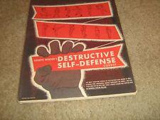 Joe Weider Bodybuilding 12 Destructive Self Defense Course Lessons Complete Set