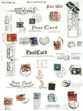 A/4 Scrapbook Paper Post Cards
