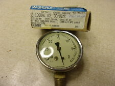 New Ashcroft Metric Case Gauge 63mm 1008Al 02L Vacuum 94096 *Free Shipping*