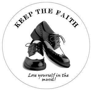 NORTHERN SOUL - DANCE SHOES - INSIDE CAR / WINDOW STICKER + 1 FREE / NEW / GIFTS
