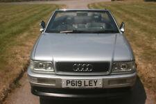 AUDI 80 CABRIOLET 2.6 V6, AUTO, 2dr CONVERTIBLE, LOW MILEAGE, LONG MOT, SHOW CAR