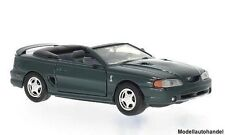 Ford Mustang SVT Cobra Konvertible 1998 - metallic-dunkelgrün -  1:24 MotorMax
