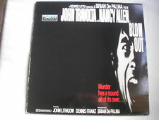 BLOW OUT laserdisc PAL 1980 John Travolta