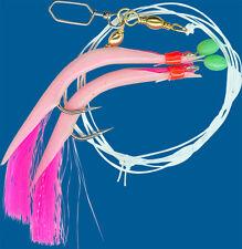 YAD Meerespaternoster Tube/pink-glitter  2 x 6/0  1,00/0,65mm