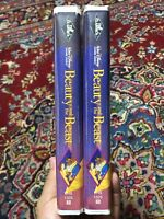 Lot Of 2 Beauty and the Beast (VHS, 1992) Black diamond