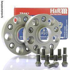 H&R DRA Spurplatten Spurverbreiterung Distanzscheibe Ø57,1 5x100 50mm // 2x25mm