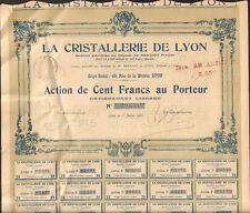 DECO => LA CRISTALLERIE DE LYON (O)