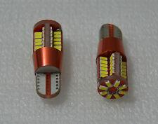 2 x BOMBILLAS LED T10 W5W T15 W16W 54 SMD CANBUS BLANCO MATRICULA MARCHA ATRAS