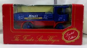 Halls Mentho-Lyptus Lorry The Fowler Steam Wagon 60 Years Limited Edition