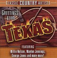 Greetings from Texas (2005, US) Willie Nelson, Waylon Jennings, Kris Kris.. [CD]
