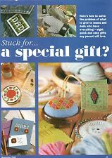8 regalos especiales para las madres y padres cruz puntada patrón de revista