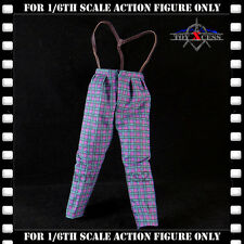 Hot Toys Batman (1989) DX08 JOKER Jack Nicholson 1/6 CHECKER PANTS w SUSPENDERS