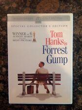 Forrest Gump (Dvd,2001,2-Disc Set,Collector's Edition- Sensormatic)Authentic Us
