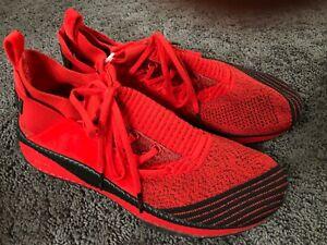 Puma x Fubu Tsugi Jun High Risk Sneakers Red/Black 36744001 Size 10.5