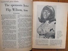 March 6, 1971 Chicago Daily News TV News (FLIP  WILSON/THAT  GIRL/MARLO  THOMAS)