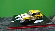 RENAULT 5 TURBO ORTIZ - MINGUEZ RALLY RACE 1983 1/43