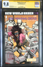 THE WALKING DEAD #178 CGC 9.8 SIGNATURE SERIES SIGNED BY CHARLIE ADLARD