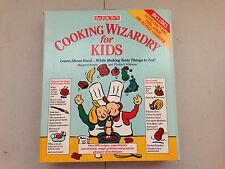 Barron's Cooking Wizardry for Kids Chef's Hat, Vinyl Apron & 312 Pg Cookbook Set
