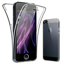 SDTEK Case for iPhone 5 / 5s Full Body 360 Cover Silicone Front and Back