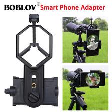 Mobile Phone Cam DVR Adapter Telescope Spotting Scope Microscope Mount Holder UK