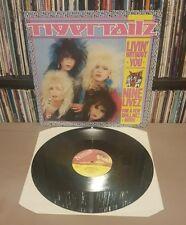 """TYGERTAILZ Livin' Without You Nine Livez 12"""" Vinyl Single UK 198812 KUT 129 EX+"""