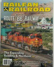 Railfan & Railroad July 2016 Route 66 Railway Reading Northern FREE SHIPPING sb
