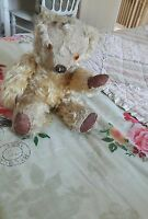 Antique chad valley English labelled jointed traditional collectors teddy bear