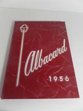 School year book, Albacard, 1956 Albion,NE  (SU8)