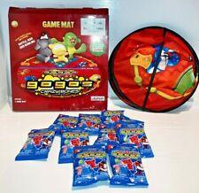 "Rare GOGOS Crazy Bones 32"" Game Mat with 10 Gogos Figures bagged Ex Condition"