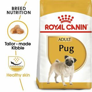 Royal Canin Pug Dry Adult Dog Food FREE NEXT DAY DELIVERY