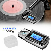 Digital LCD Cartridge Scale Gauge 0.01g Tracking Force Turntable Stylus Tonearm