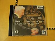 Mozart Piano Concertos 17 & 20 Ashkenazy  SACD - CD Japan Exton