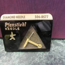 NOS Pfanstiehl Replacement Needle 506-DS77 General Electric RS-3825, C-100 L@@K