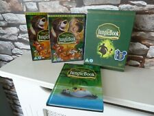 DISNEY CLASSICS : THE JUNGLE BOOK DVD & BOOK COLLECTORS SET - FAST/FREE POSTING.