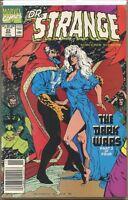 Doctor Strange Sorcerer Supreme 1988 series # 23 UPC code very fine comic book