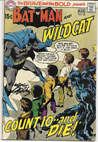 Brave And The Bold #88 1970 VG Signed Neal Adams DC Comics Free Bag/Board