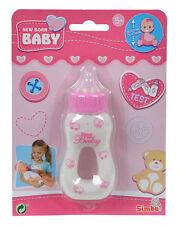Simba 105563965 New Born Baby Magisches Milchfläschchen Trinkflasche ab 3 Jahre