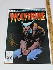12x18 Marvel Color Prints Wolverine LE #3 Hand Signed by Claremont & Rubinstein
