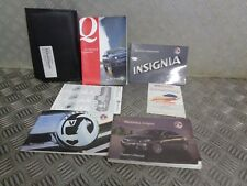 2009 VAUXHALL INSIGNIA 5DR OWNERS MANUAL HANDBOOK , SERVICE BOOK WITH WALLET