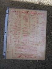 1948 Evinrude Elto Outboard Motor Spark Plug Shear Pin Lubrication Chart   L