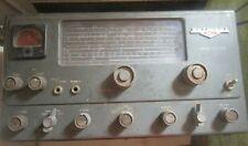 National Nc-125 Receiver Vacuum Tube Shortwave Ham Radio Communications