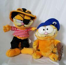 Garfield Plush Doll Baseball and Pirate
