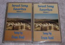 Israel Song Favorites Volumes 1 & 2 Sung by Fran Avni Audio Cassette