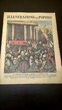RIVISTA ILLUSTRAZIONE DEL POPOLO N° 22 1937 - GIRO D'ITALIA - ROCKEFELLER