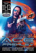 ACE FREHLEY 2016 NEW YORK CONCERT TOUR POSTER-Hard Rock, Heavy Metal Music, Kiss